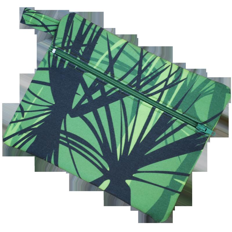 Zip pouch - pandanus