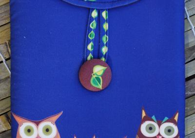 owls (blue)