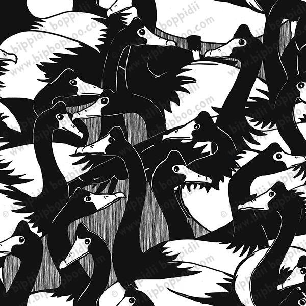 geese in the 'hood