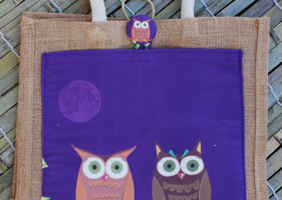 owls (purple)