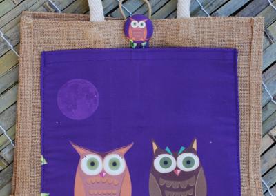owls (purple)
