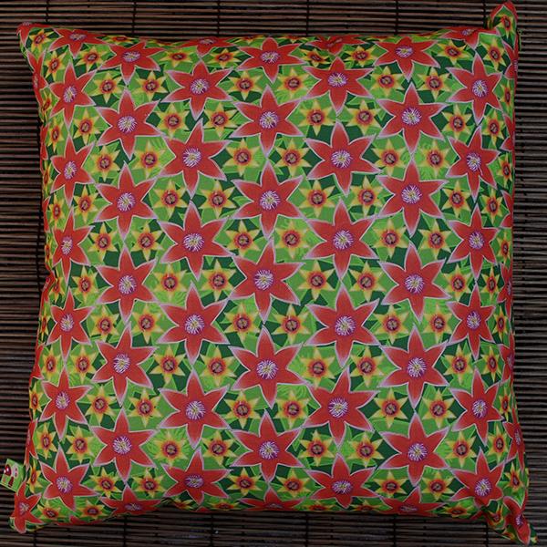 Cushion: Papa's pomegranate flowers