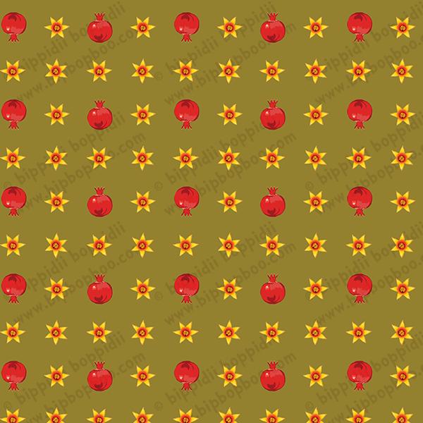 Papa's ditzy pomegranates
