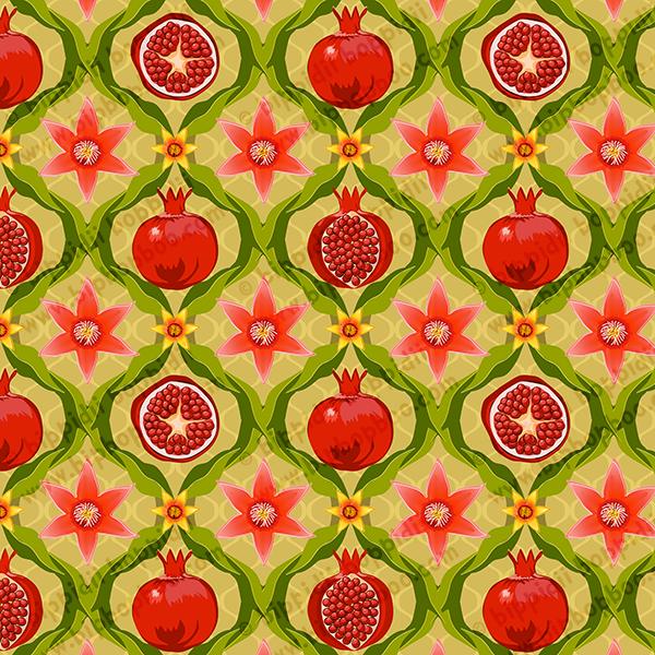 Papa's pomegranates (pink flowers)