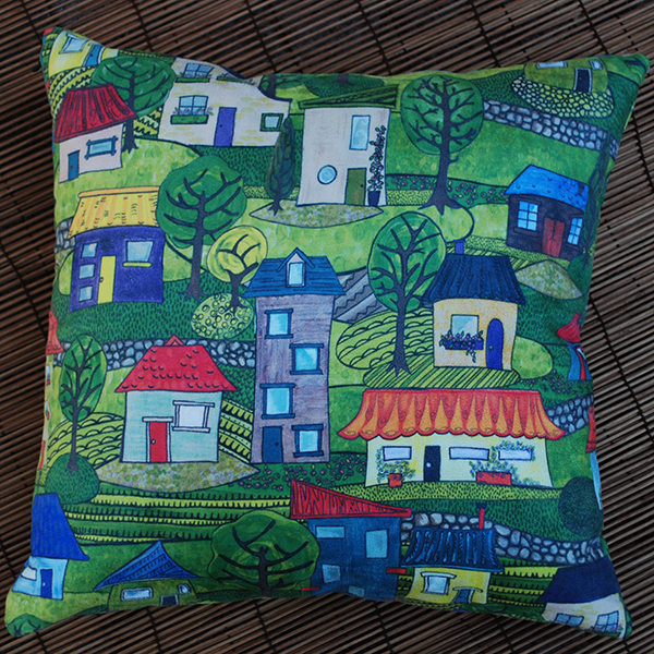 Cushion: The days of the quarter acre block