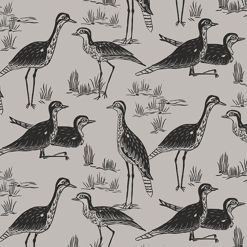 stealing curlews (grey)