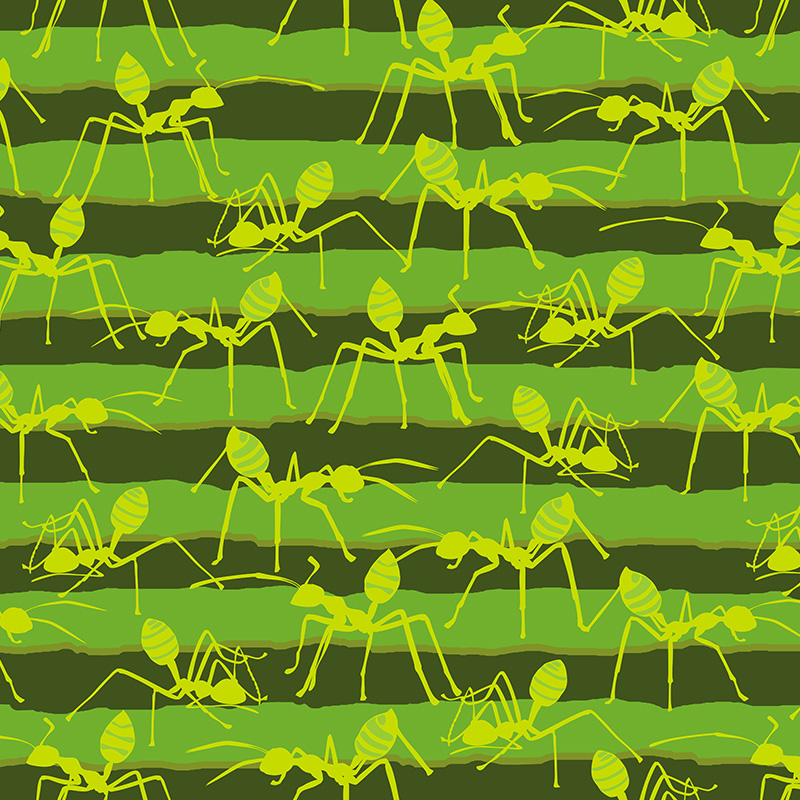 green ant march