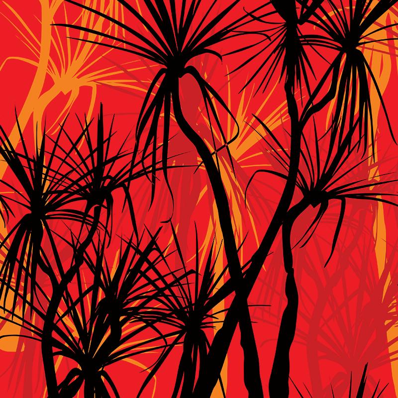 pandanus fire