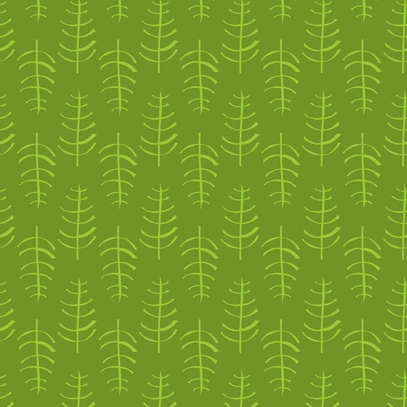 skeletal leaf - wet