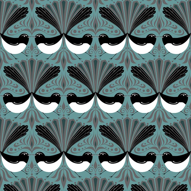 wagtail parade (blue)