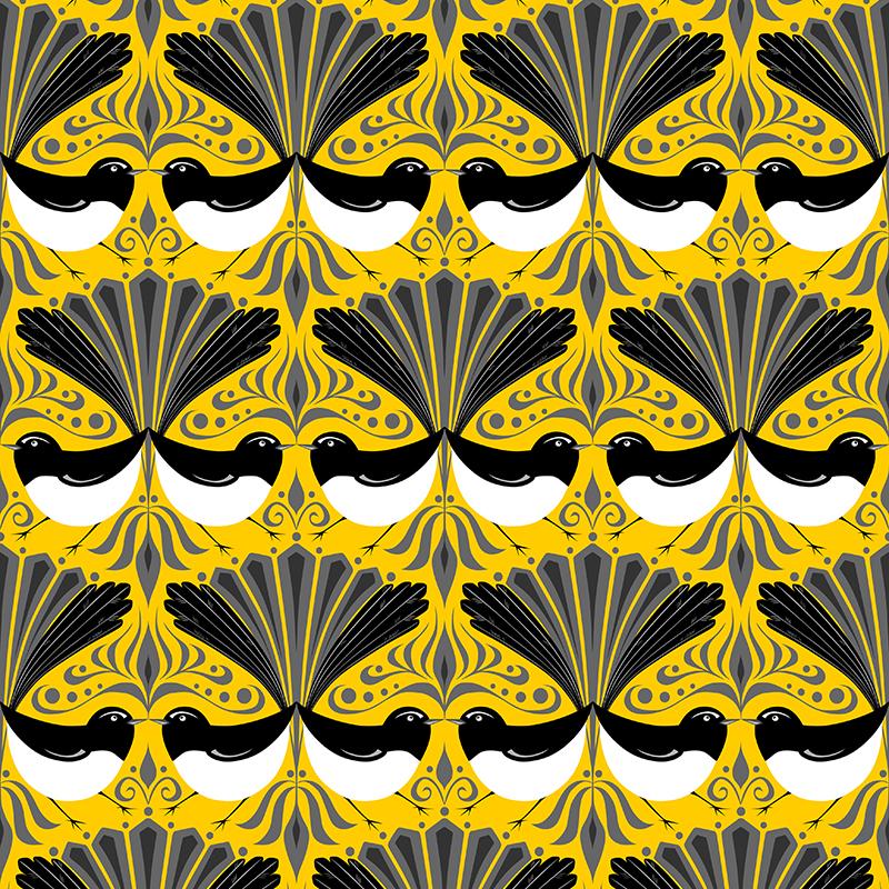 wagtail parade (yellow)