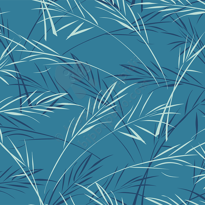 finch grass (blue)