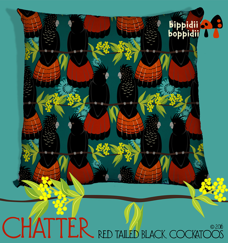 chatter cushion mockup