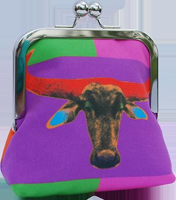 Bovine Monroe (patches - purple)