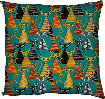empire of cats (turquoise)