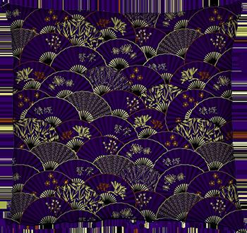 fan me! (purple)