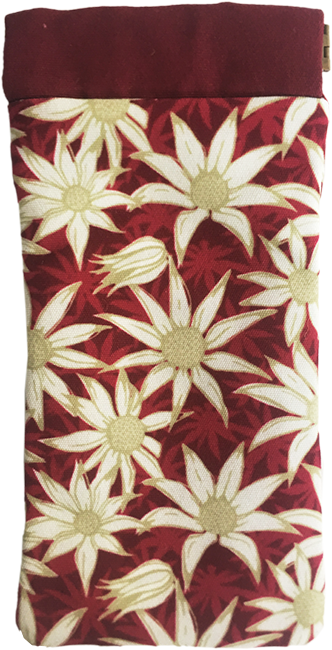 flannel flower (magenta)