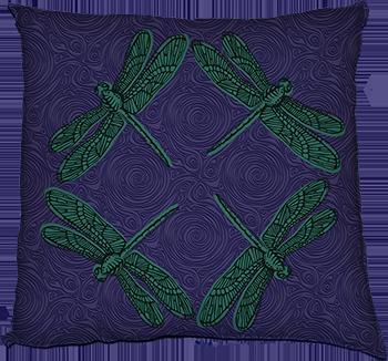 hover (jade on purple)