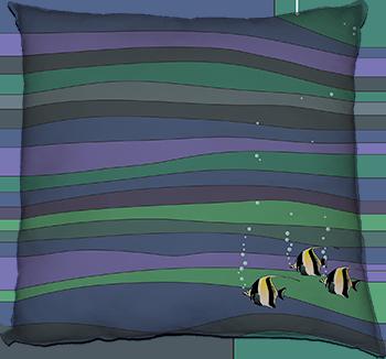 fish flight (Ondine's moorish idols)