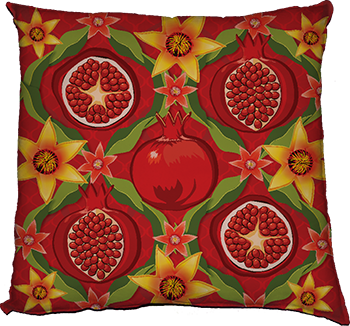 papa's pomegranates (feature - red)