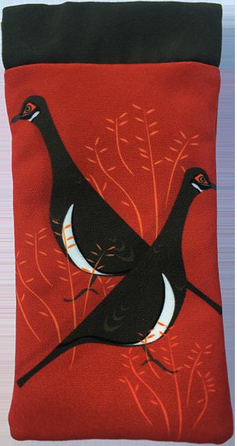 partridge pigeon (red)