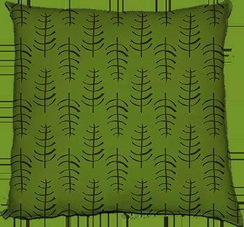 skeletal leaf (bone dry wet, medium scale)