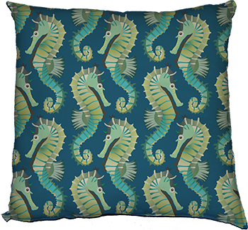 seahorses on parade (large scale)