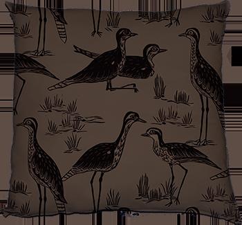 stealing curlews (dusk)
