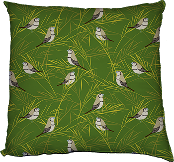sway (green) cushion