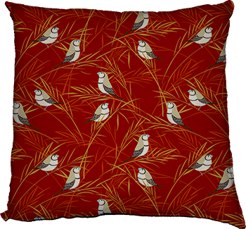 sway (red) cushion