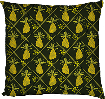 pineapple party (green, small scale)